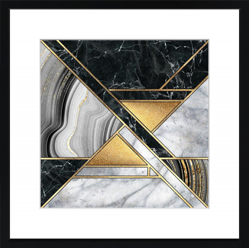 Marble & Gold Deco